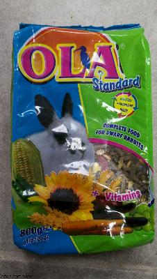 אוכל לארנבים  Ola
