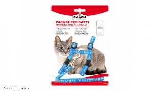קמון רתמה + רצועה מעוצבת לחתול גדול CAMON
