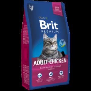 בריט חתולים בוגר עוף משופר BRIT גדול