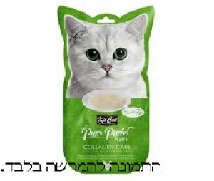 קיט קאט חטיף לחתול בטעם עוף לחתולים מבוגרים למניעת הזדקנות  KIT CAT