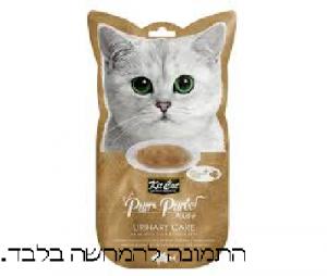 קיט קאט חטיף לחתול בטעם טונה לבעיות בדרכי השתן  KIT CAT