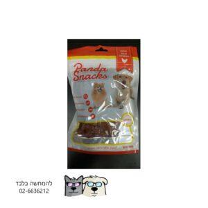 ללבות עוף ובקלה- חטיף רך לכלבים Panda Golden Snackes