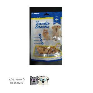מיני רצועות סושי סלמון – חטיף רך לכלבים Panda Golden Snackes