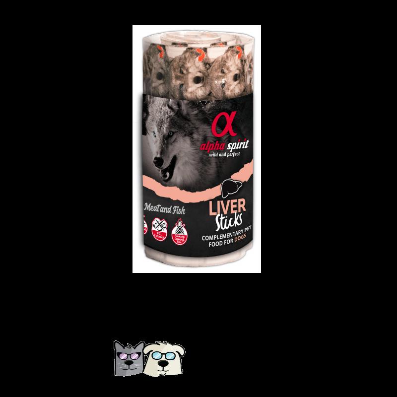 אלפה סטיק גליל כבד לכלב 16 יחידות alpha spirit Sticks